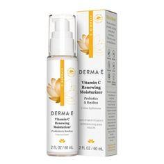 Vitamin C skincare is known for its brightening effects. DERMA E's lightweight Vitamin C moisturizer replenishes your skin throughout the day. Vitamin C Benefits, Apricot Kernels, Vitis Vinifera, Olive Fruit, Vitamin C Serum, Uneven Skin Tone, Skin Brightening, Fragrance Oil, Vitamin E