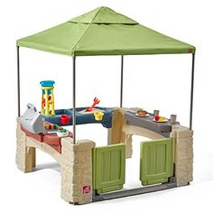 Kids can practice their grilling game with this engaging patio play set that includes a sand and water play are for splashy fun. Includes play set with canopy and accessories W x H x DPlasticAdult assembly requiredRecommended for age Toddler Playhouse, Kids Indoor Playhouse, Build A Playhouse, Backyard Playhouse, Childs Playhouse, Backyard Toys For Kids, Outdoor Playhouses, Backyard Playground, Toddler Toys