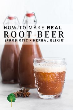 This homemade root beer is so delicious brightly flavored with herbs and spices naturally sweet and lightly fizzy And its made the oldfashioned way through fermentation.