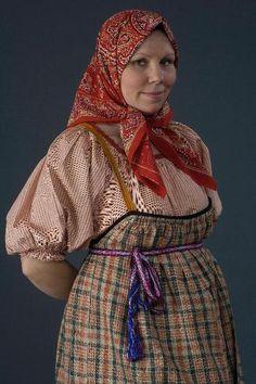 Русский костюм в фотоработах Дмитрия Давыдова