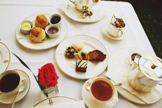 High Tea at Harrods