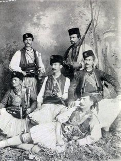 Bulgarian volunteers from Macedonia that fought at the Serbo-Bulgarian War (1885)