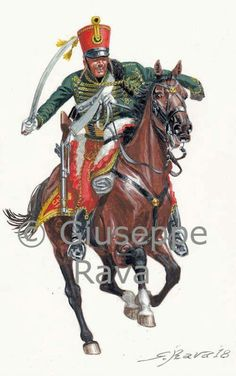 Ausrtrian Hussar, Napoleonic Wars. Military Art, Military History, Kingdom Of Bohemia, Kingdom Of Italy, Austrian Empire, Waterloo 1815, 28mm Miniatures, Holy Roman Empire, Early Middle Ages