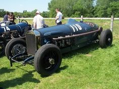 ? Aero-Engined Vintage Racers - THE H.A.M.B.