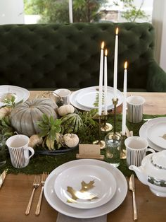 A Friendsgiving Tea Party | Camille Styles