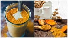 Anti-inflammatory Tumeric Almond Milk Drink - Step To Health