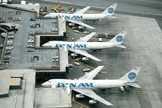 Historic Airline Pan Am, when terminals are built for the Boeing 747!