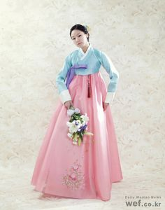 Hanbok Korean Traditional Dress Fashion Outfits Korea