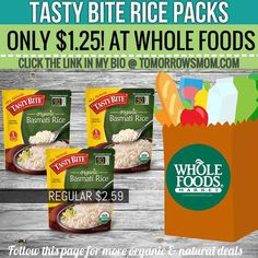These are perfect for eating on the go! Get your coupons GO to link in my bio @tomorrowsmom for details . . . . Visit My Blog: TomorrowsMom.com  Organic & Natural Deals Family Savings Deals  . TAG OR DM THIS DEAL 2 A FRIEND . . #frugal #savings #deals #cosmicmothers  #organic #fitmom #health101 #change #nongmo #organiclife #crunchymama #organicmom #gmofree #organiclifestyle #familysavings  #healthyhabits #lifechanging #fitpeople #couponcommunity #deals  #healthyppl #motherhood…