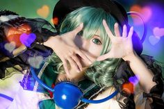 Koishi Komeiji (The Touhou Project) Touhou Cosplay, Projects For Kids, The Cure, Kids Service Projects