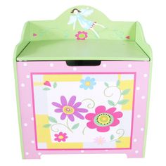 Sale Girl's Flower Toy Box All 4 Kids (AU) 01 Large