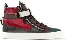 Giuseppe Zanotti Four Colour Hi-Top sneaker