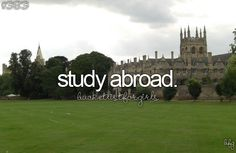 I don't know what I would study, but it would be really neat.