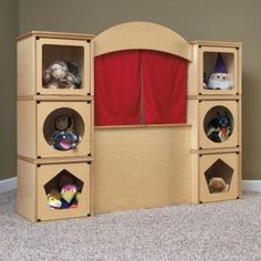 Amazon.com: RooMeez Extra Puppet Theatre Kit: Toys & Games