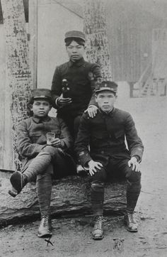 French colonial solders, WW1, from Vietnam.