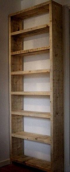 Rustic Planked Standad Tall Bookcase By Thewoodwork On Etsy Https Www Listing 564532615