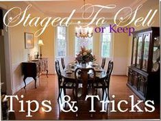 Good ideas for staging a home to sell