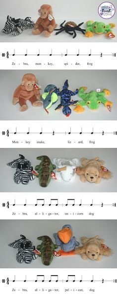 Sing. Teach. Love. Fun way to incorporate composition, rhythm, form and instruments using manipulatives in your elementary music classroom.
