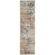 e1959b7cb9c7 Shop for Safavieh Madison Bohemian Vintage Cream  Multi Distressed Runner  (2 3 x