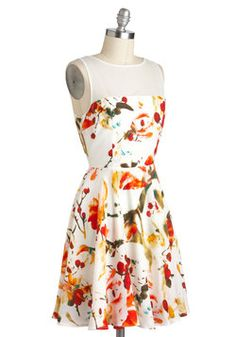 Scatter in the Breeze Dress, #ModCloth