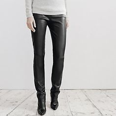 Leather Leggings | The White Company