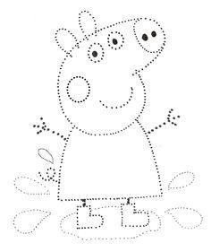 1 million+ Stunning Free Images to Use Anywhere Printable Preschool Worksheets, Kindergarten Math Worksheets, Tracing Worksheets, Preschool Writing, Numbers Preschool, String Art Patterns, Preschool Learning Activities, Autumn Activities, Kids Education