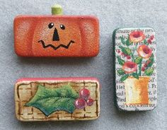 Dominoes! Pin or Magnet patterns. by Just Fine Designs Painting Patterns by Sandy LeFlore