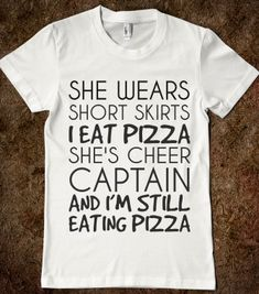 I EAT PIZZA - Hipster Apparel - Skreened T-shirts, Organic Shirts, Hoodies, Kids Tees, Baby One-Pieces and Tote Bags