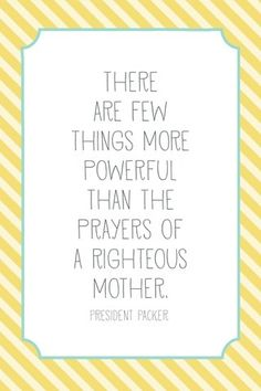 Prayers of a Righteous Mother