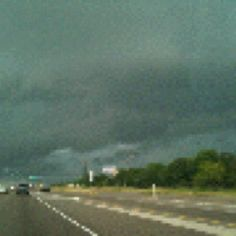 Storm rolling into Ranch Viejo, Texas Monday April 16, 2012.