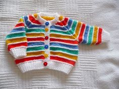 Baby cardigan of many colours häkeln , Baby cardigan of many colours Baby cardigan of many colours Crafts. Baby cardigan of many colours häkeln , Baby cardigan of many colours Baby cardigan of many colours Crafts. Baby Cardigan Knitting Pattern Free, Knitting Patterns Boys, Baby Boy Knitting, Crochet Baby Cardigan, Knit Baby Sweaters, Knitting For Kids, Baby Patterns, Rainbow Cardigan, Rainbow Outfit