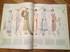 Elite Styles Magazine December 1924 1920s Vintage Fashion | eBay