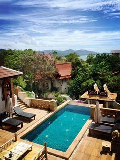 Near Choeng Mon Beach, Koh Samui: StarIsland Pool Villa in Choeng Mon, Koh Samui, Thailand –2-bedroom private villa with private pool and ocean views in Koh Samui | affiliate link