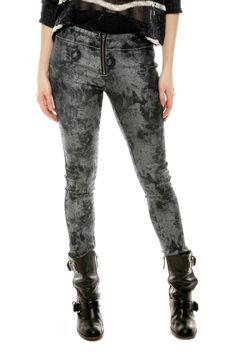 Shoptiques — Silver Denim Leggings