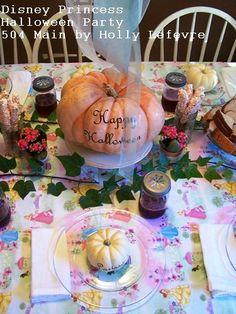 504 Main by Holly Lefevre: A Magical Disney Princess Halloween Tea Party