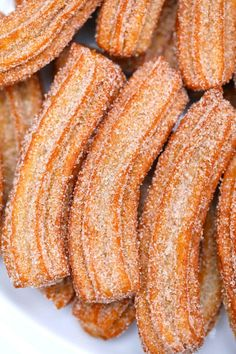 Churros Recipe Discover How to Make Authentic Churros Churros are best made at home to ensure their delicious crispness and freshness! Covered in cinnamon sugar fried to perfection these are crispy on the outside and tender on the inside. Homemade Churros Recipe, Homemade Sweets, Mexican Food Recipes, Dessert Recipes, Halal Recipes, Dinner Recipes, Beet Salad Recipes, Delicious Desserts, Desert Recipes