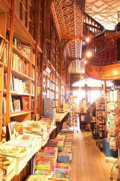 The Fabulous Bookstore Livraria Lello e Irmão in Portugal