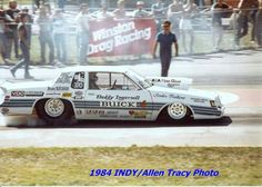 Buddy Ingersoll's 83 Buick Regal Powered by a Turbocharged Gas 268 Buick with 4 speed manual transmission