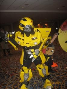 Bumblee! Transformers was out that year.