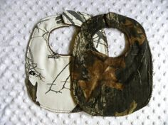 Bebe Boy= Country Fried  Hey, I found this really awesome Etsy listing at http://www.etsy.com/listing/113068476/set-of-2-baby-boy-bibs-mossy-oak-break