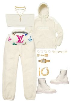Untitled #4504 by mollface on Polyvore featuring polyvore fashion style Dr. Martens Louis Vuitton ASOS BillyTheTree Cartier Tiffany & Co. Henri Bendel Lana SPINELLI KILCOLLIN Gentle Monster clothing
