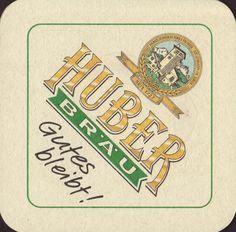 Brewery Huber :: St Johann in Tirol :: Coaster Art, Beer Coasters, Beer Label, Brewery, Austria, Bliss, Numbers, Saints, City