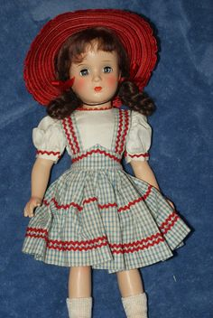 "Vintage 14"" Madame Alexander Margaret O'Brien Composition Doll Excellent Cond"