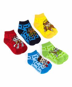 Look at this #zulilyfind! Paw Patrol Shorty Socks Set - Kids #zulilyfinds