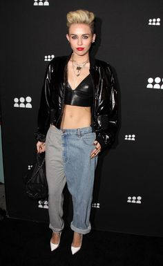 Miley Cyrus' Latest Outfit Is Slightly Confusing #Refinery29