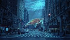 Surreal underwater world created by blending several different images in Adobe Photoshop. During the process there are quite a few, yet simple photoshop techniques used to get the final look. Pen tool, color grading, blend modes, dodge and burn to play with shadows and lights, and gradients and color filters at the very end. To see the workflow watch the video on youtube , stock images under the video. Photoshop Images, Creative Photoshop, Adobe Photoshop, Color Grading, Color Filter, Underwater World, Surrealism, Dodge, Shadows