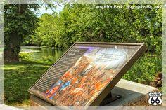 """A Trail of Tragedy""- Trail of Tears Wayside Exhibit- Waynesville, Missouri"