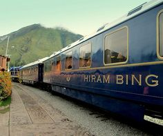 Riding the #Orient #Express Hiram Bingham train to #MachuPicchu http://www.aluxurytravelblog.com/2013/04/16/riding-the-orient-express-hiram-bingham-train-to-machu-picchu/