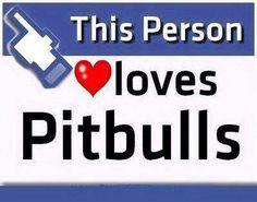 Loves pitbulls!!!