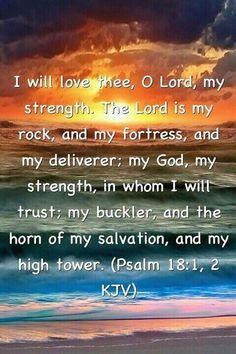 PSALM  18:  1-2 KJV
